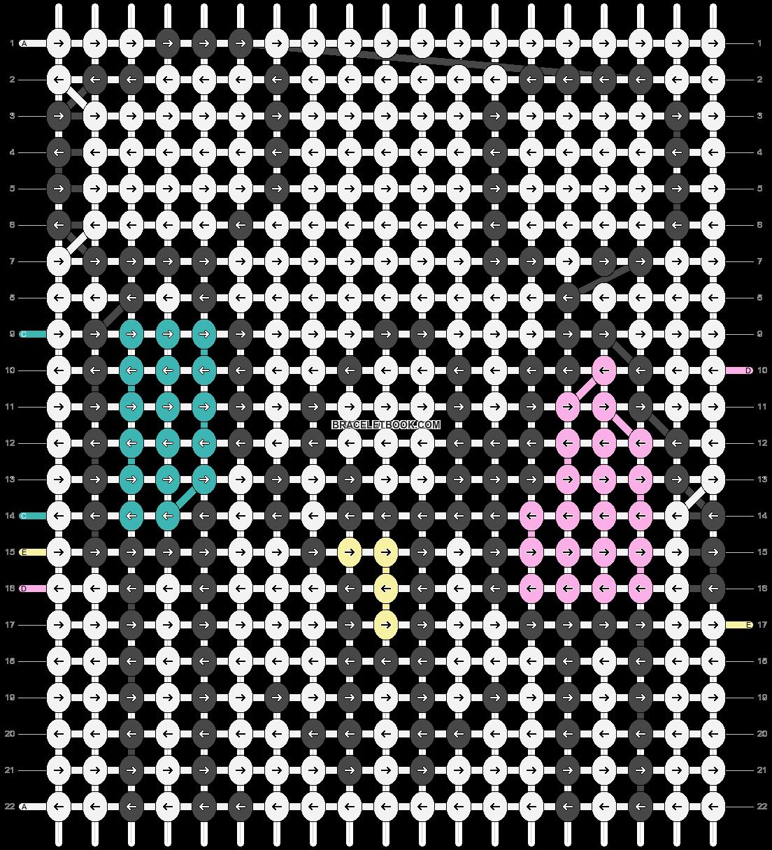 Alpha pattern #88604 pattern