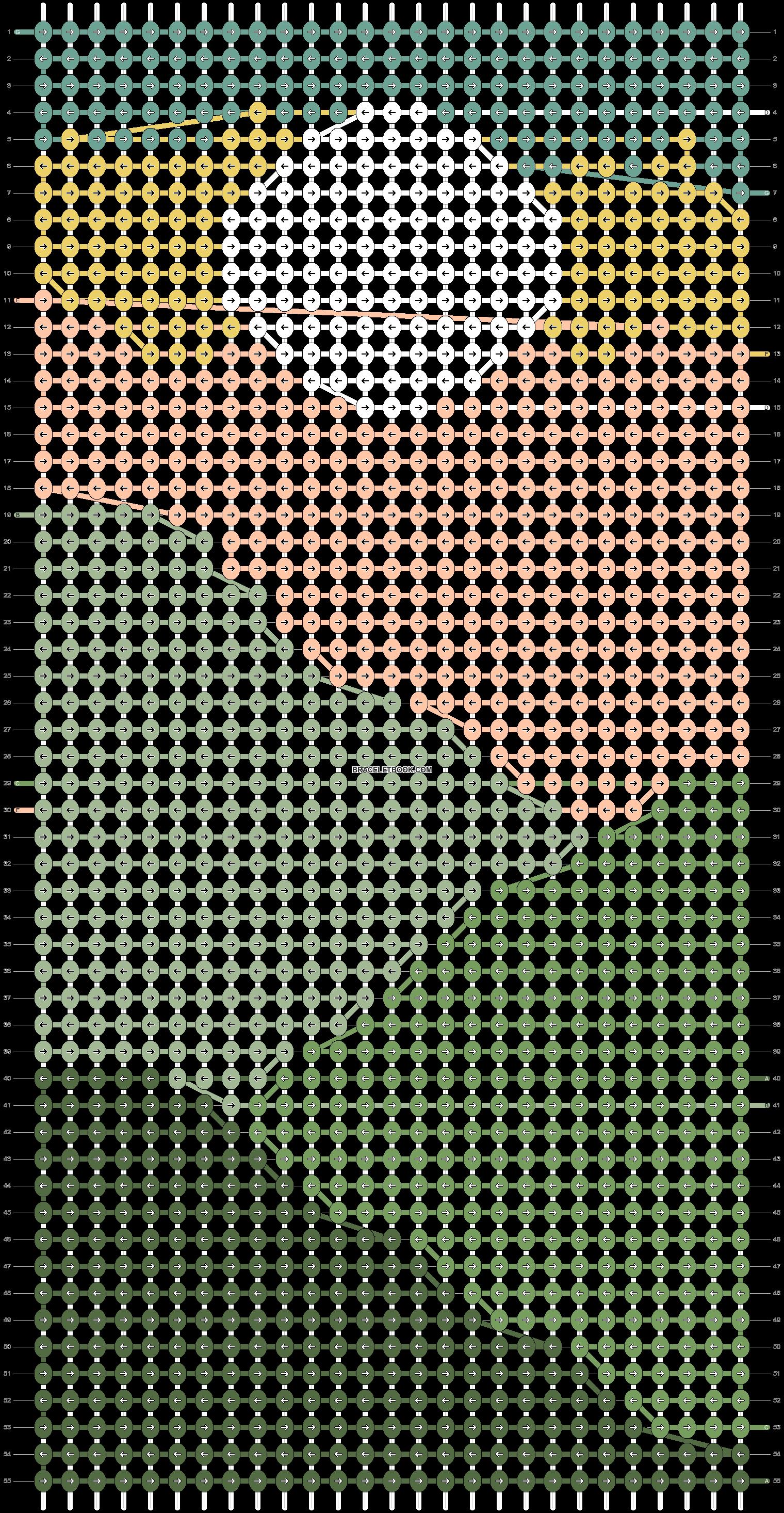 Alpha pattern #88605 pattern