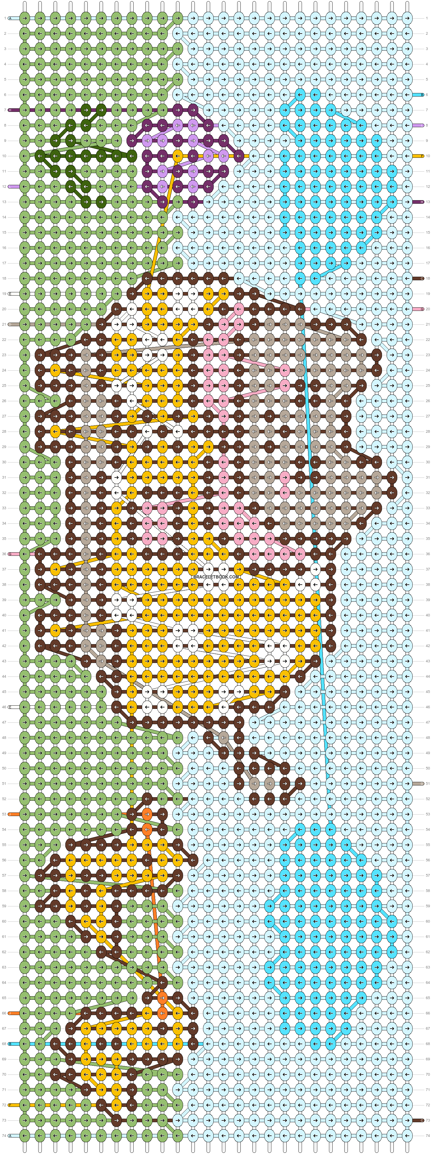 Alpha pattern #88618 pattern