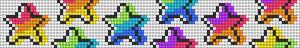 Alpha pattern #88624