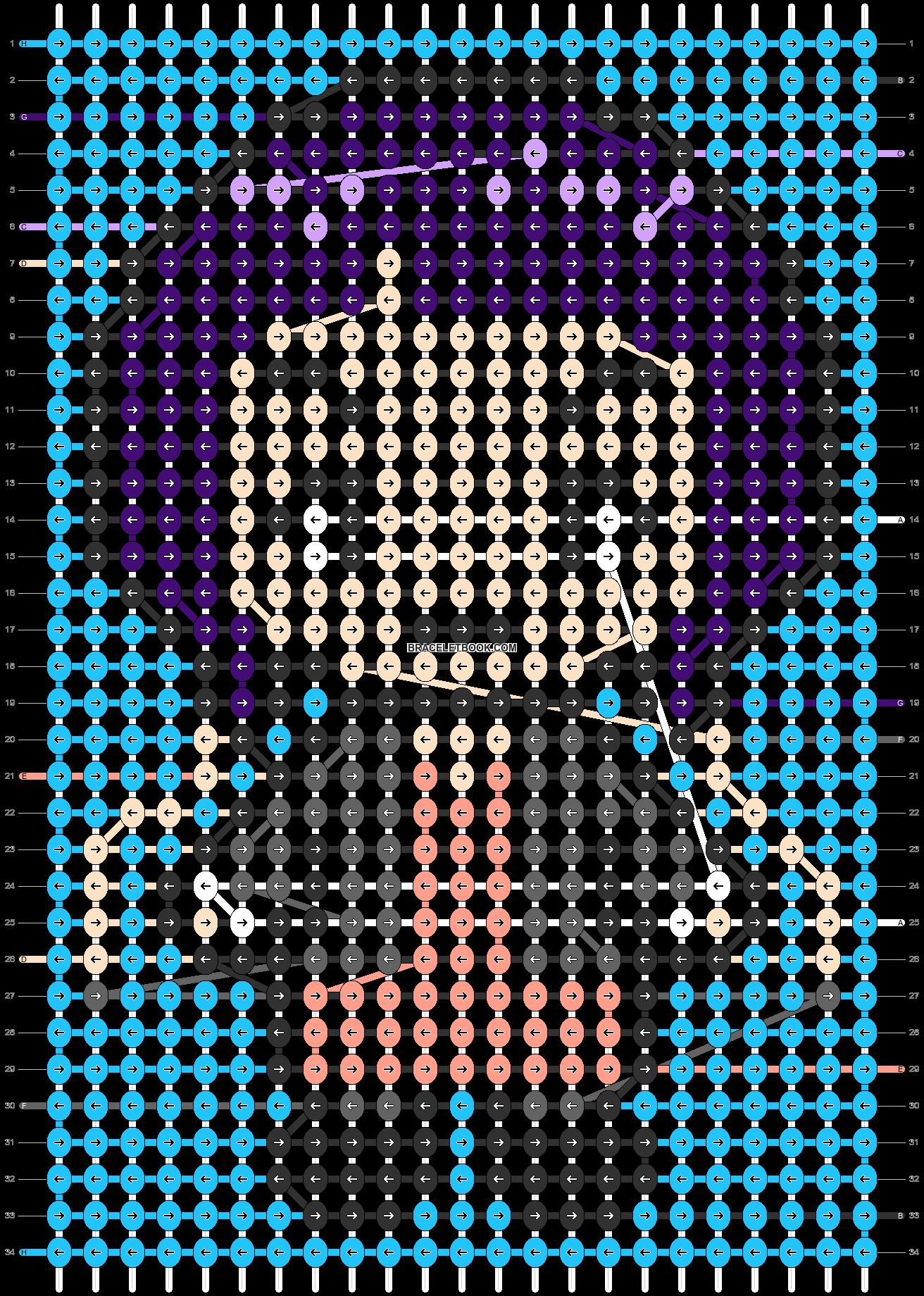 Alpha pattern #88642 pattern