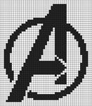 Alpha pattern #88656