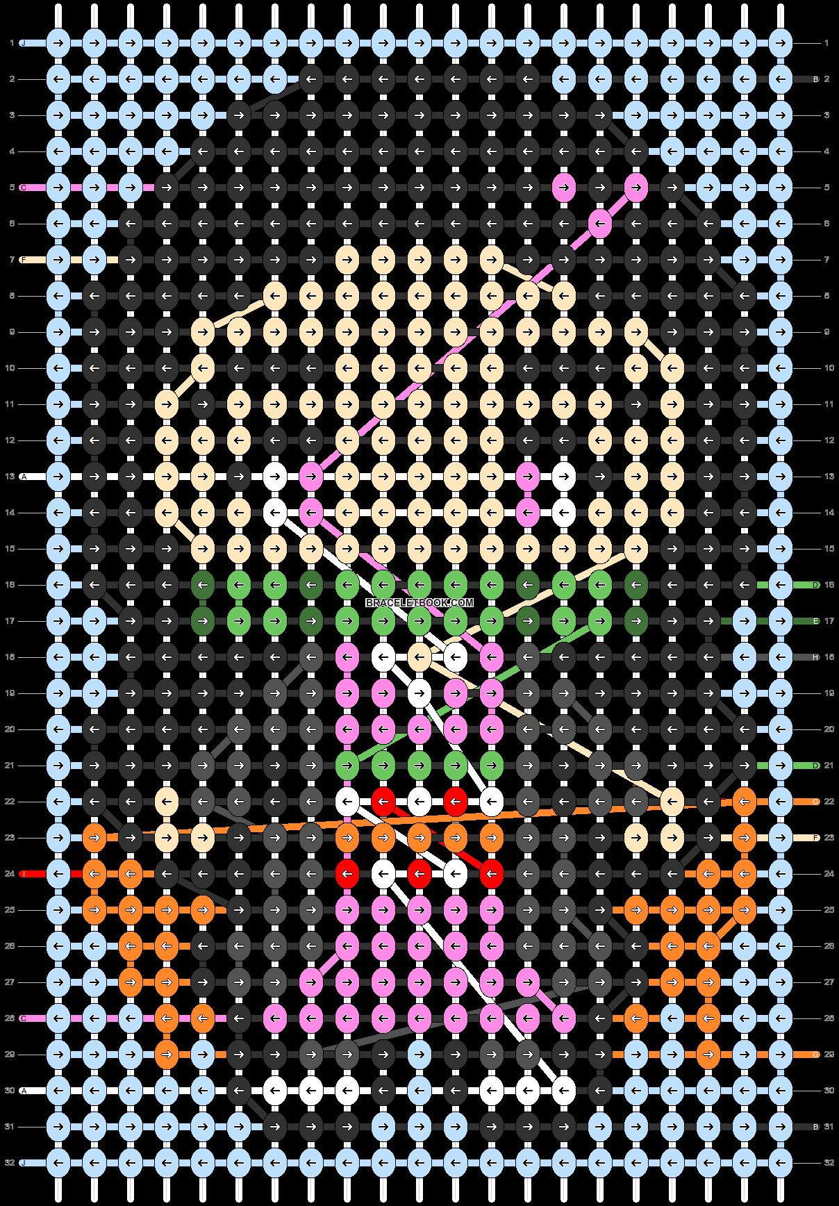 Alpha pattern #88694 pattern