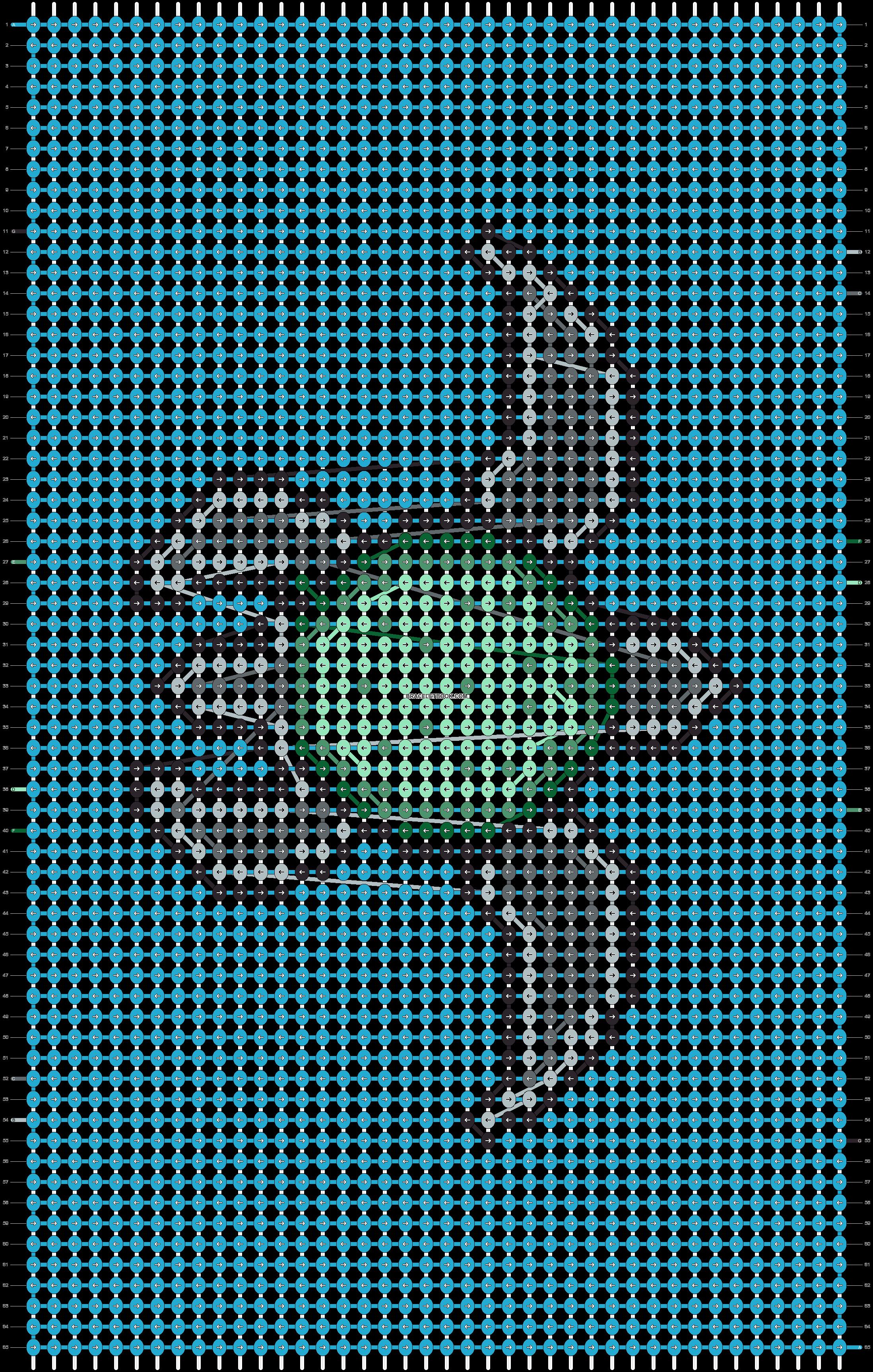 Alpha pattern #88711 pattern