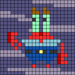Alpha pattern #88712