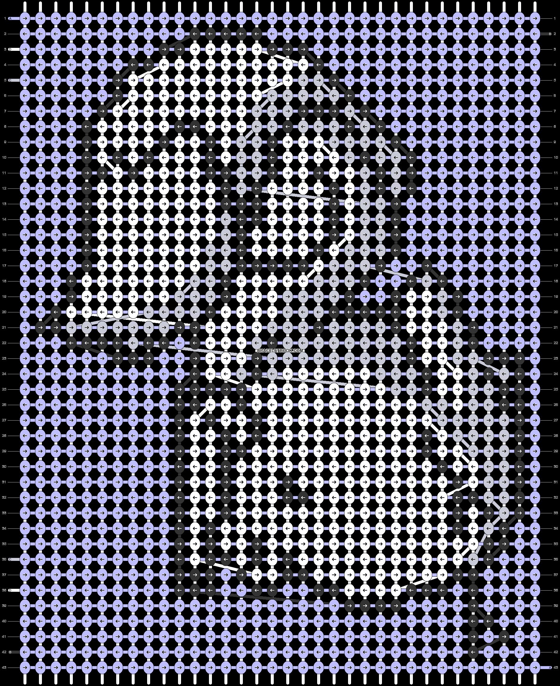 Alpha pattern #88713 pattern