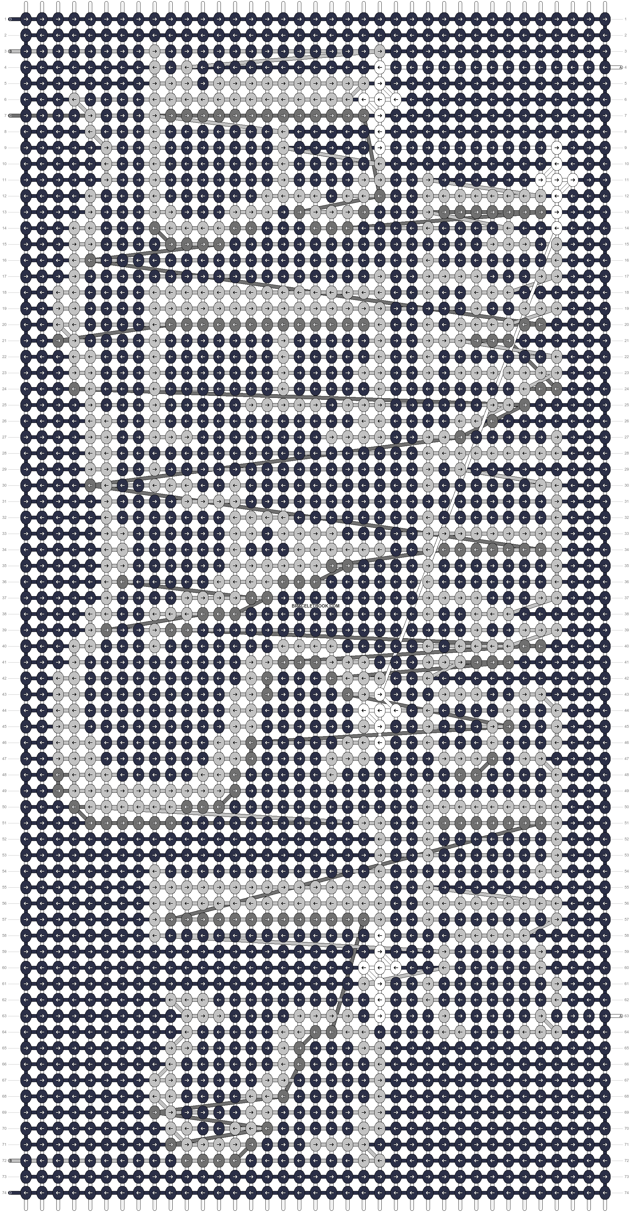 Alpha pattern #88722 pattern