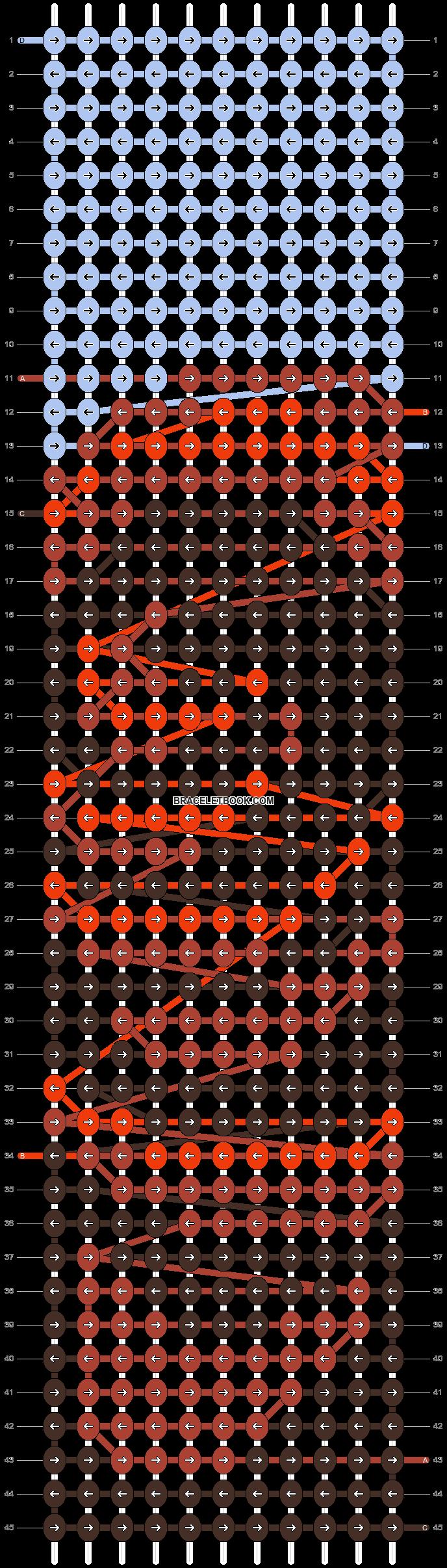 Alpha pattern #88726 pattern