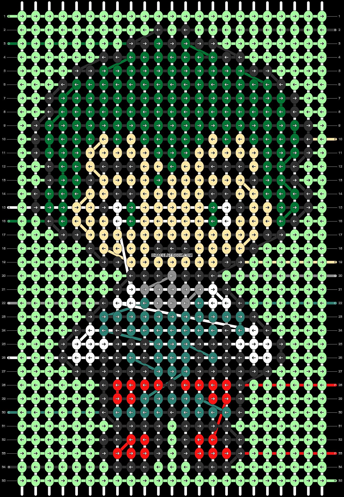 Alpha pattern #88727 pattern