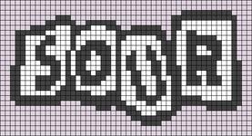 Alpha pattern #88733