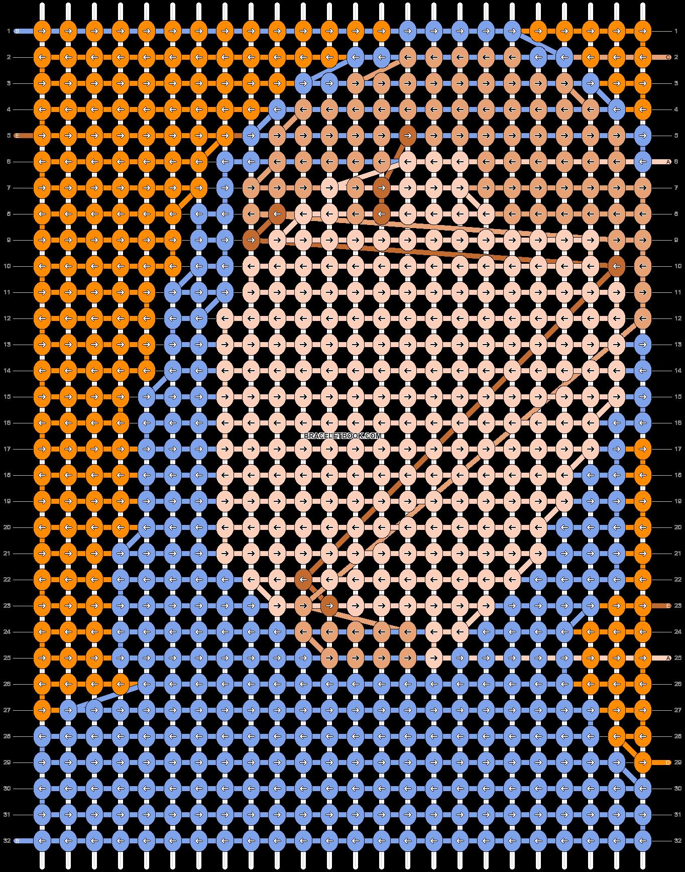 Alpha pattern #88742 pattern