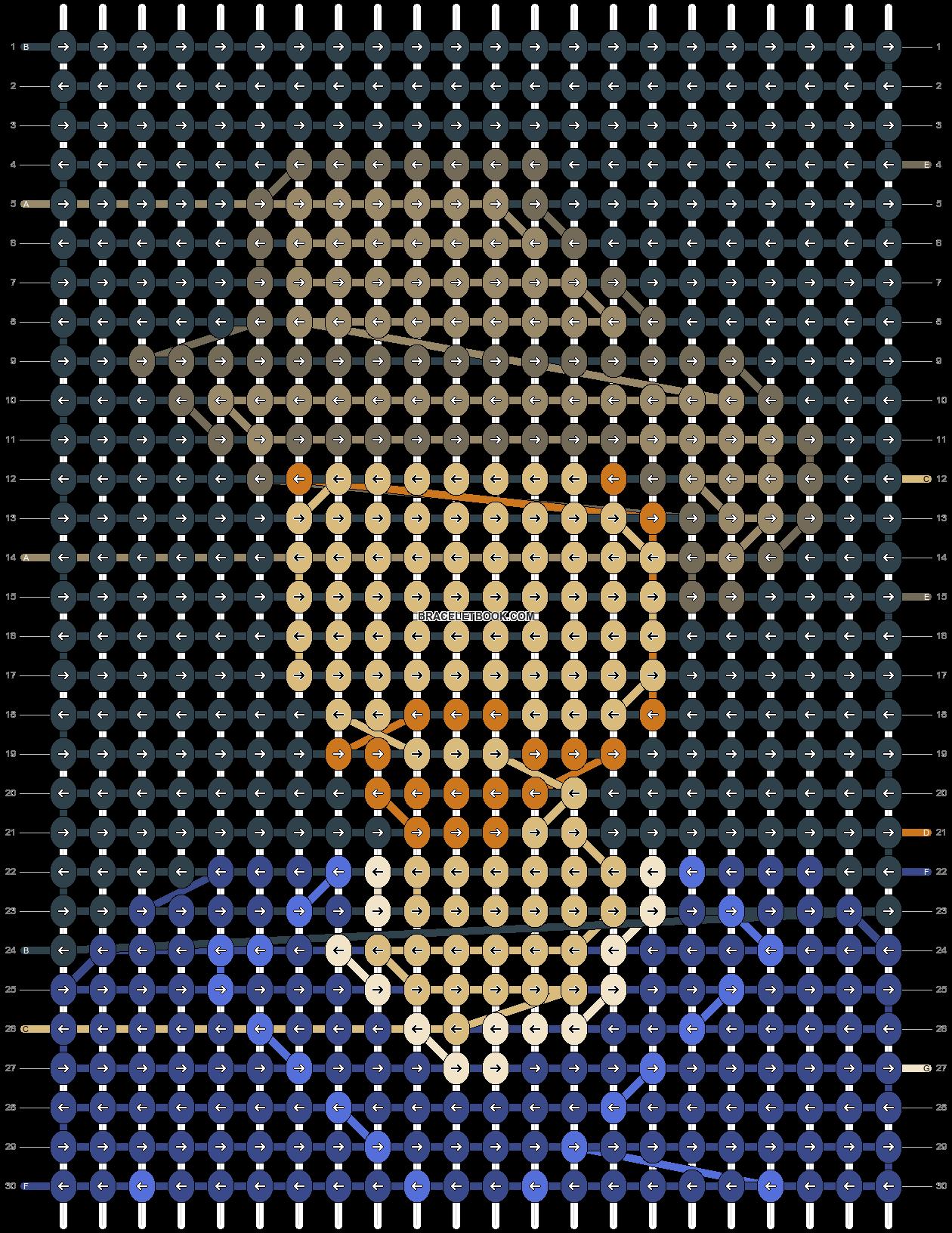 Alpha pattern #88756 pattern