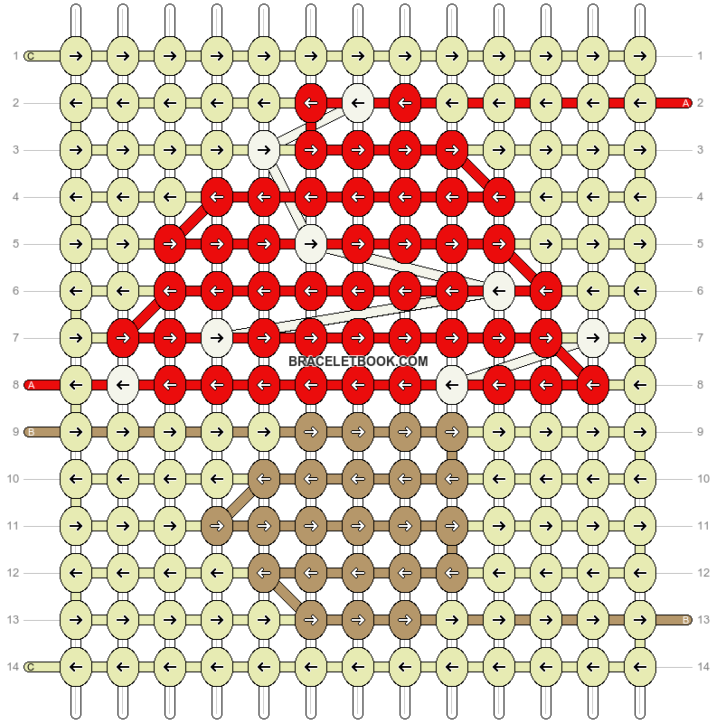 Alpha pattern #88758 pattern