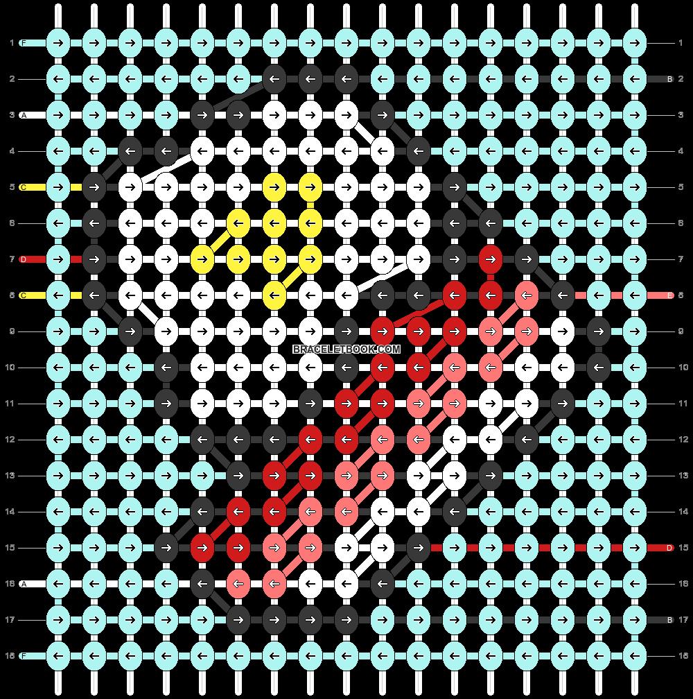 Alpha pattern #88774 pattern