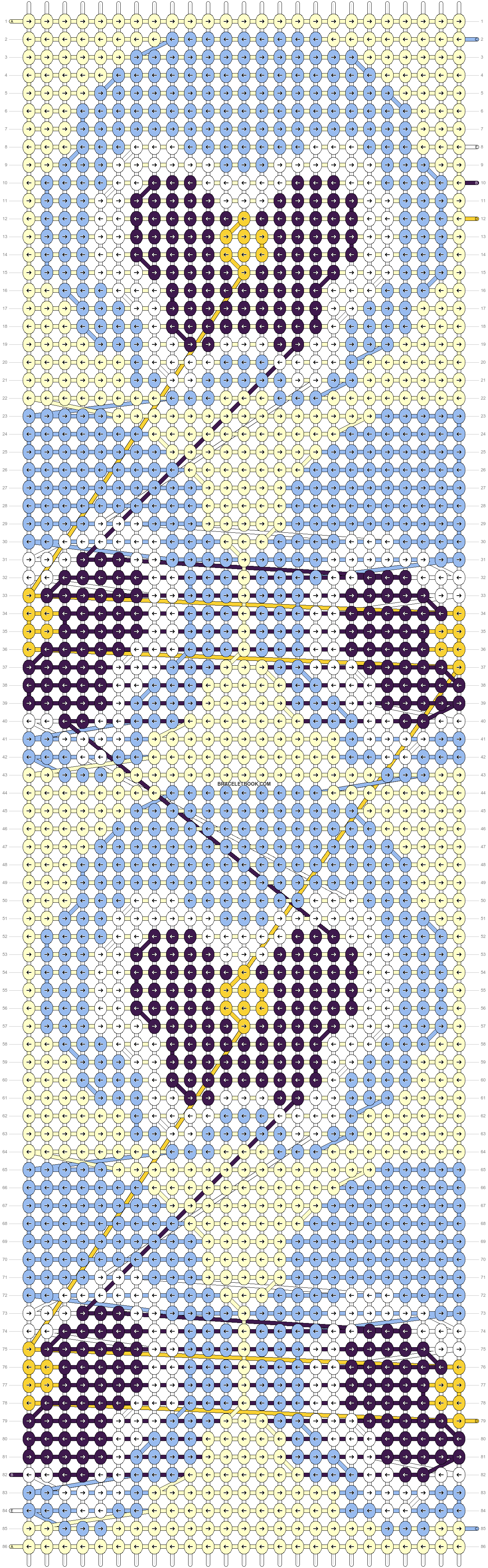 Alpha pattern #88790 pattern