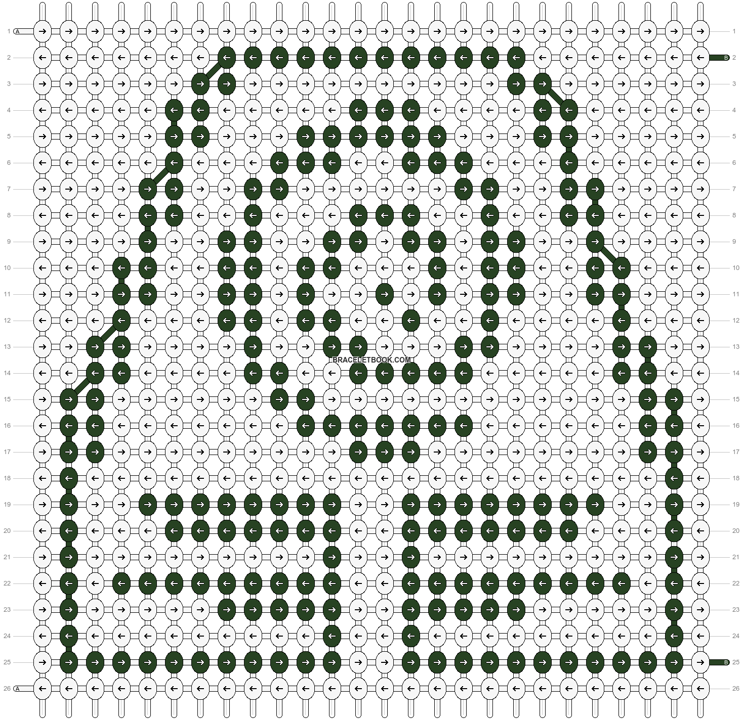 Alpha pattern #88800 pattern