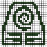Alpha pattern #88800