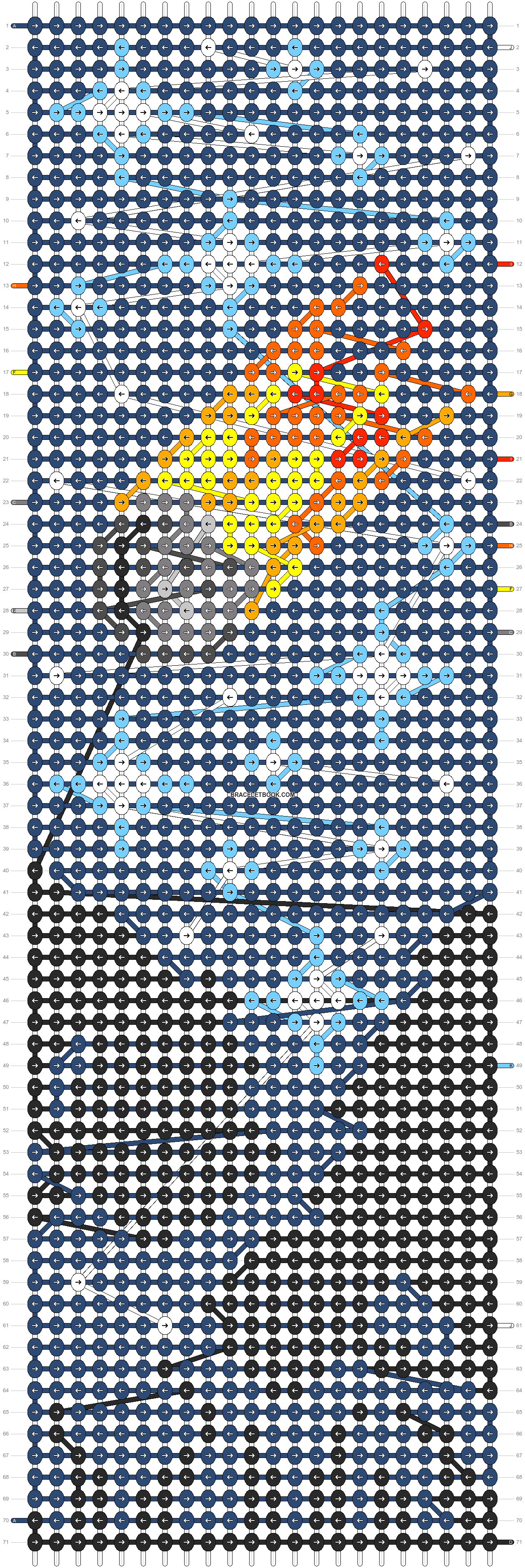 Alpha pattern #88801 pattern