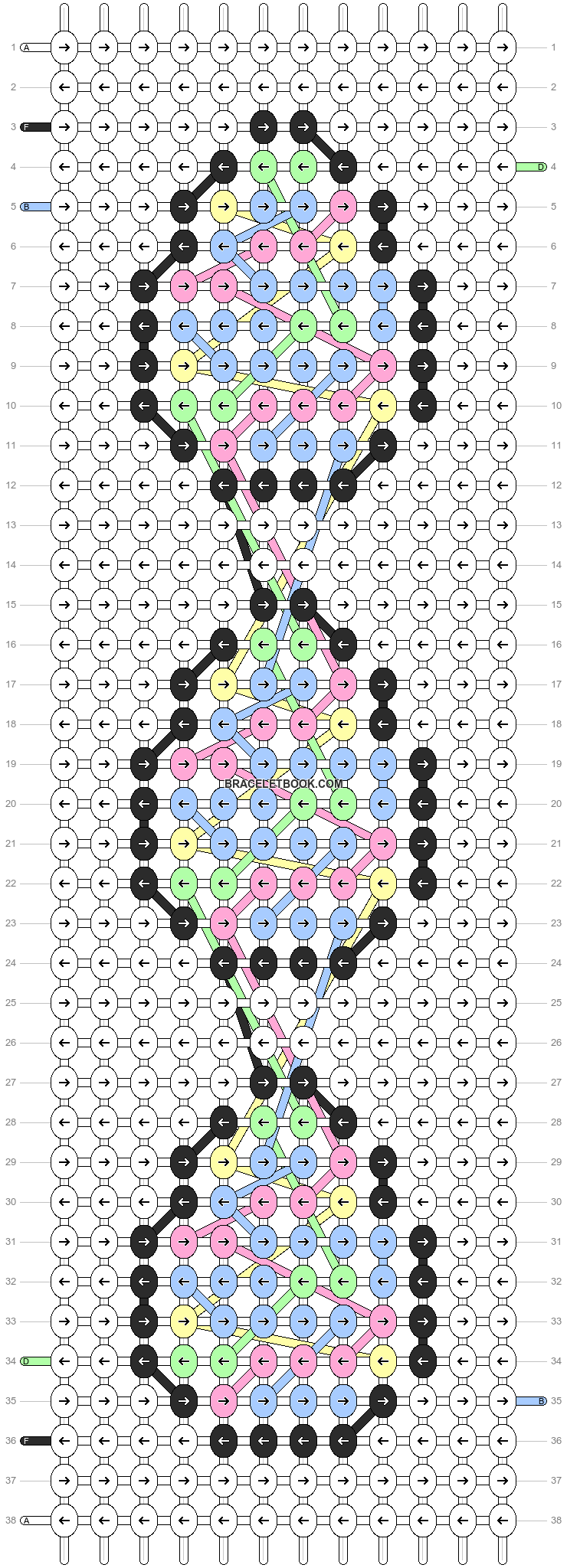 Alpha pattern #88805 pattern