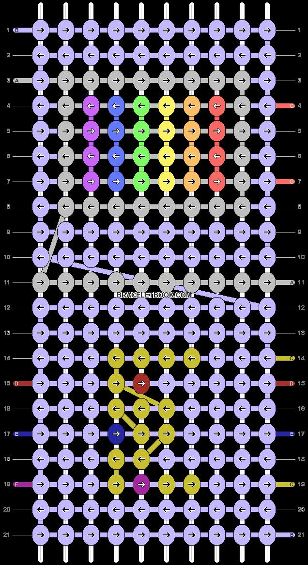 Alpha pattern #88829 pattern