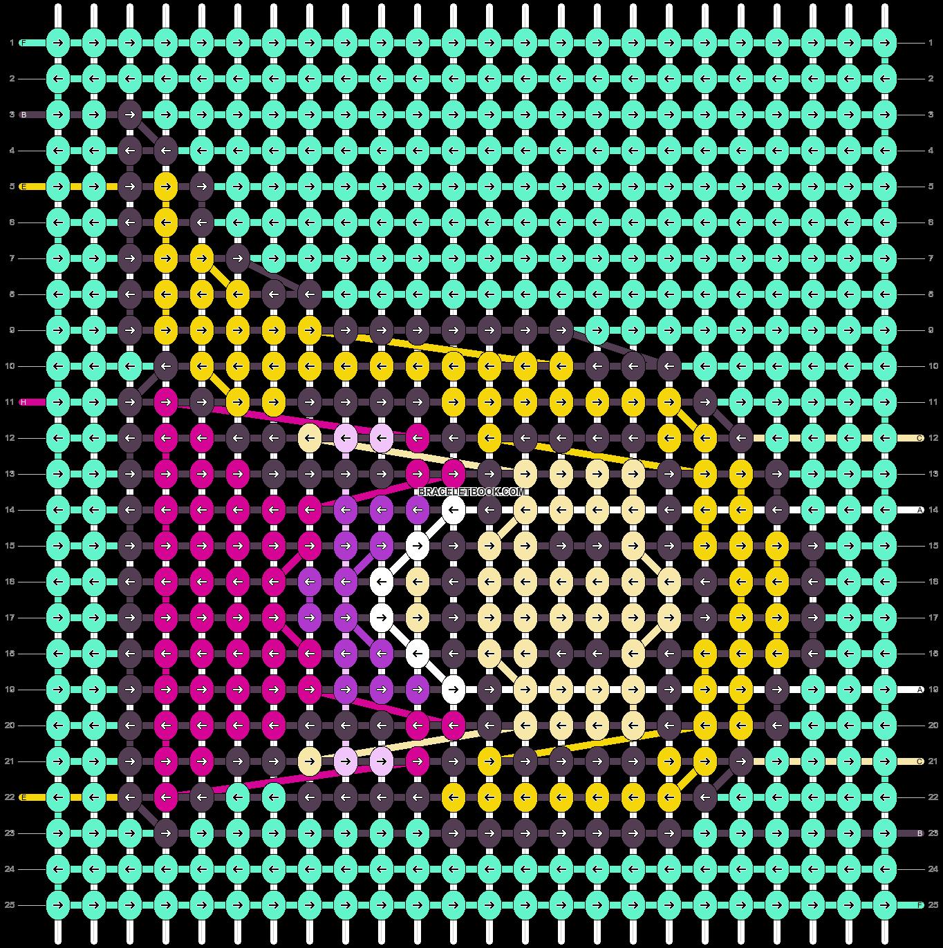 Alpha pattern #88861 pattern