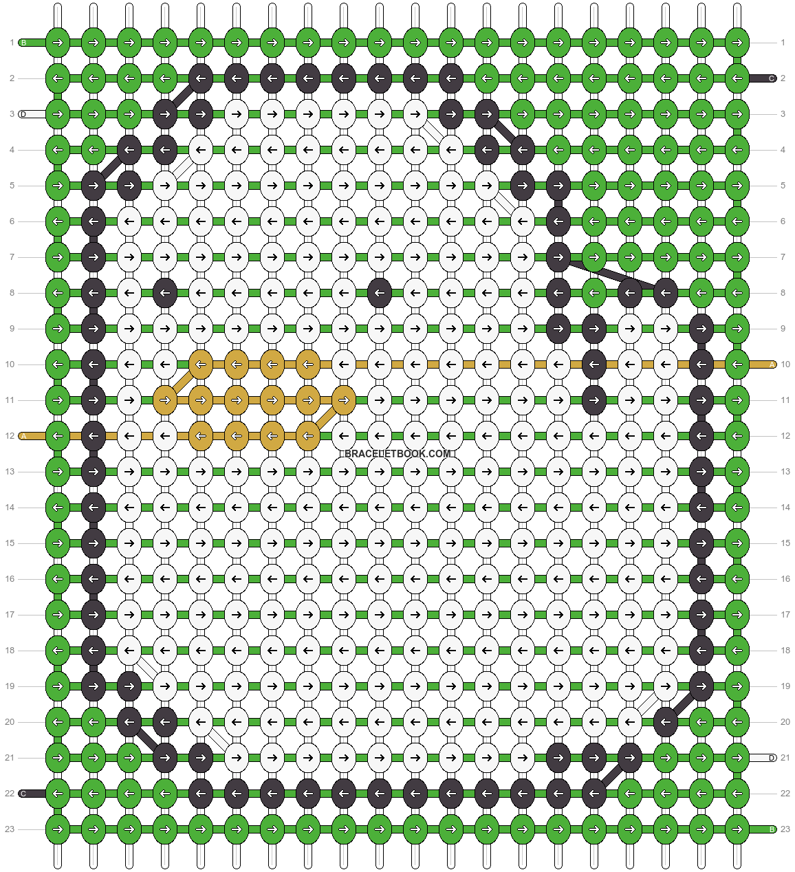 Alpha pattern #88872 pattern