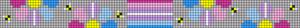 Alpha pattern #88889