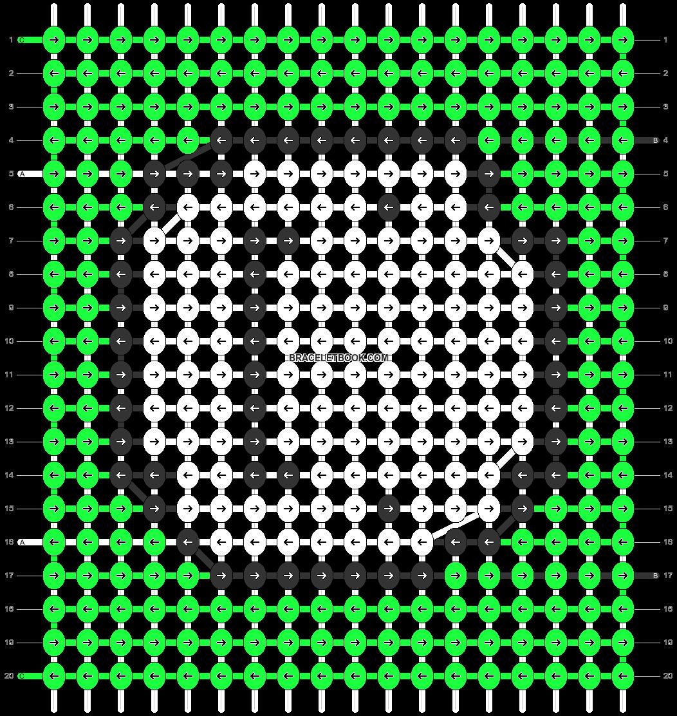 Alpha pattern #88896 pattern