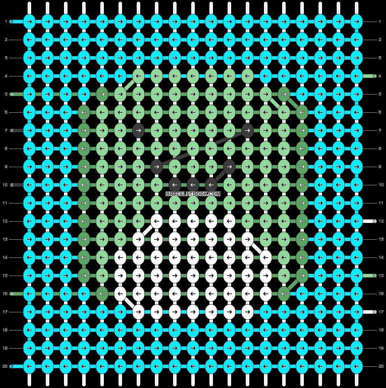 Alpha pattern #88980 pattern