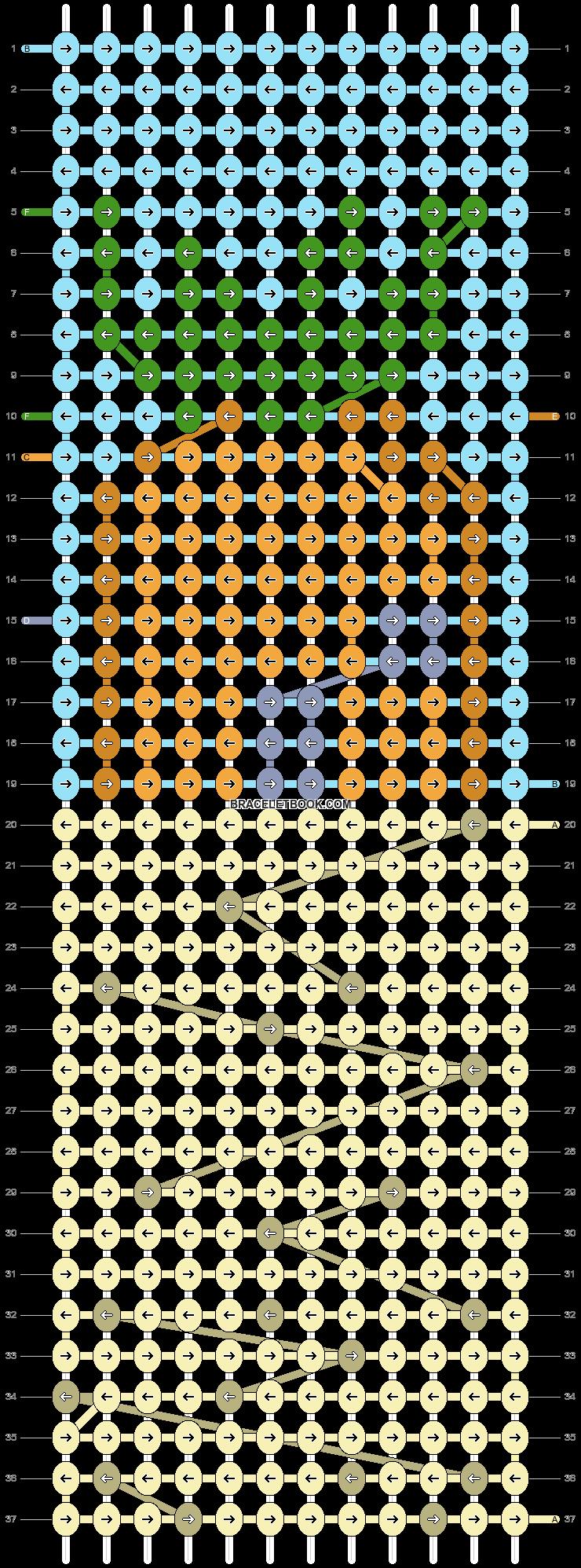 Alpha pattern #89027 pattern