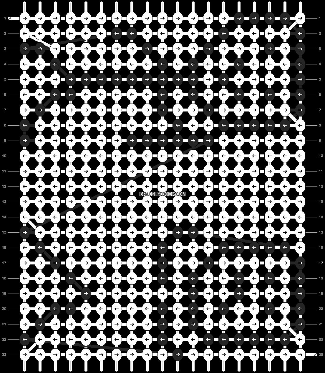 Alpha pattern #89028 pattern
