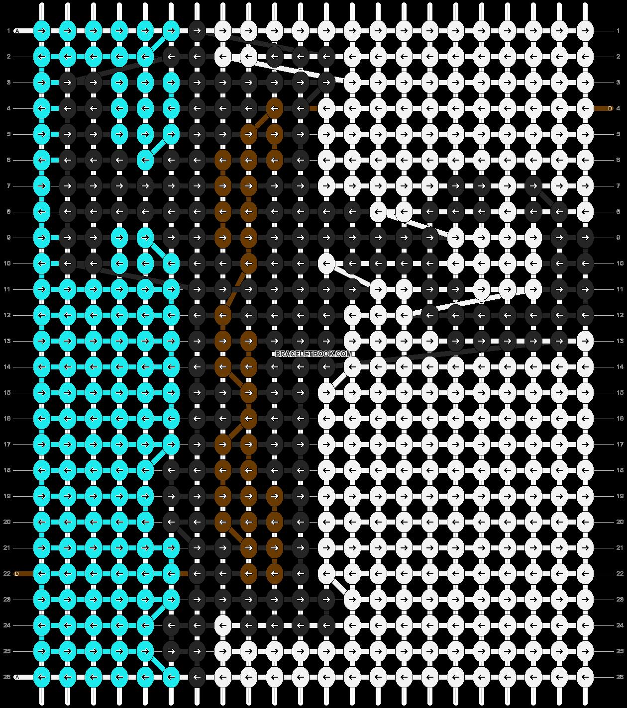 Alpha pattern #89030 pattern