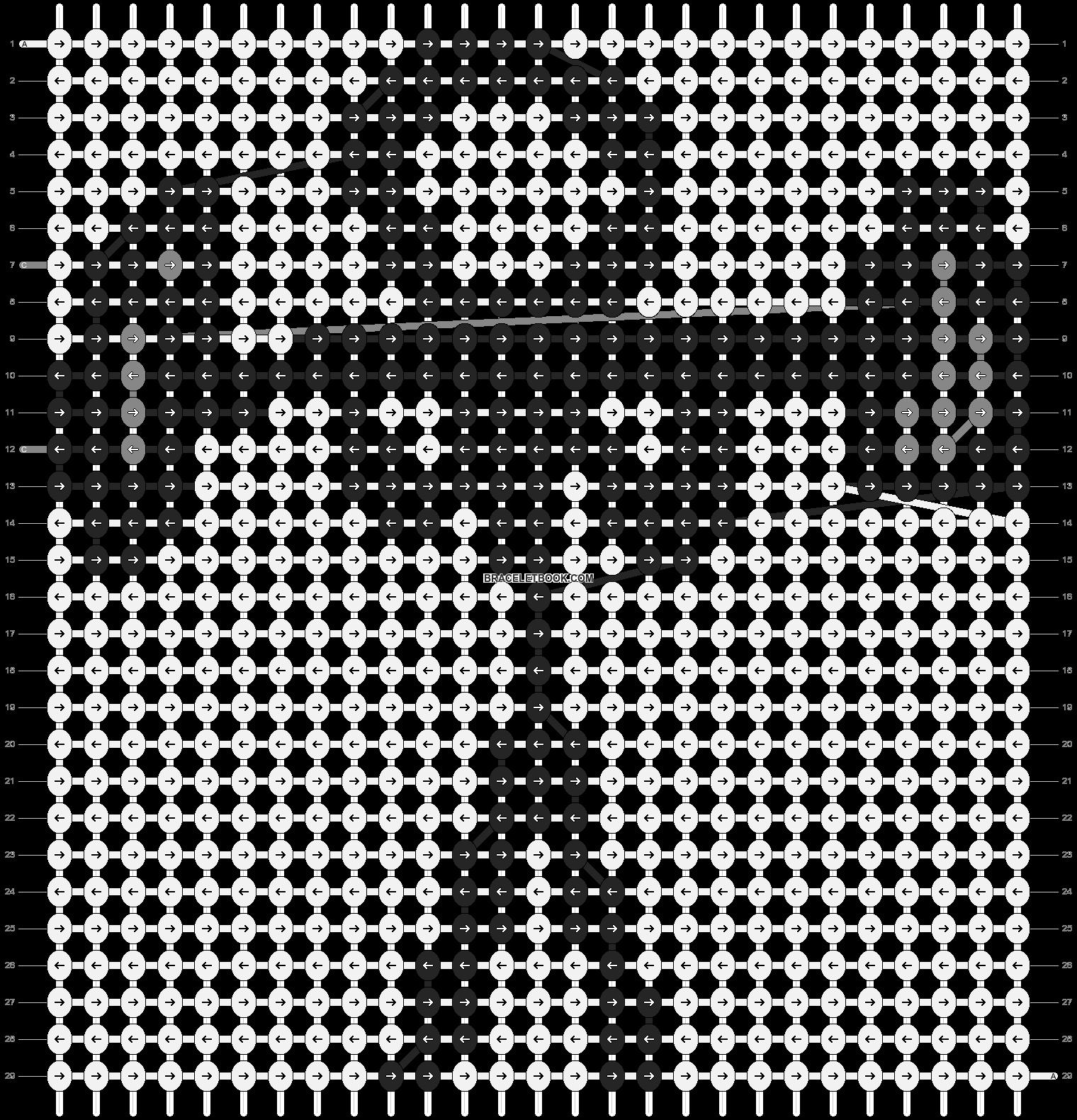 Alpha pattern #89032 pattern