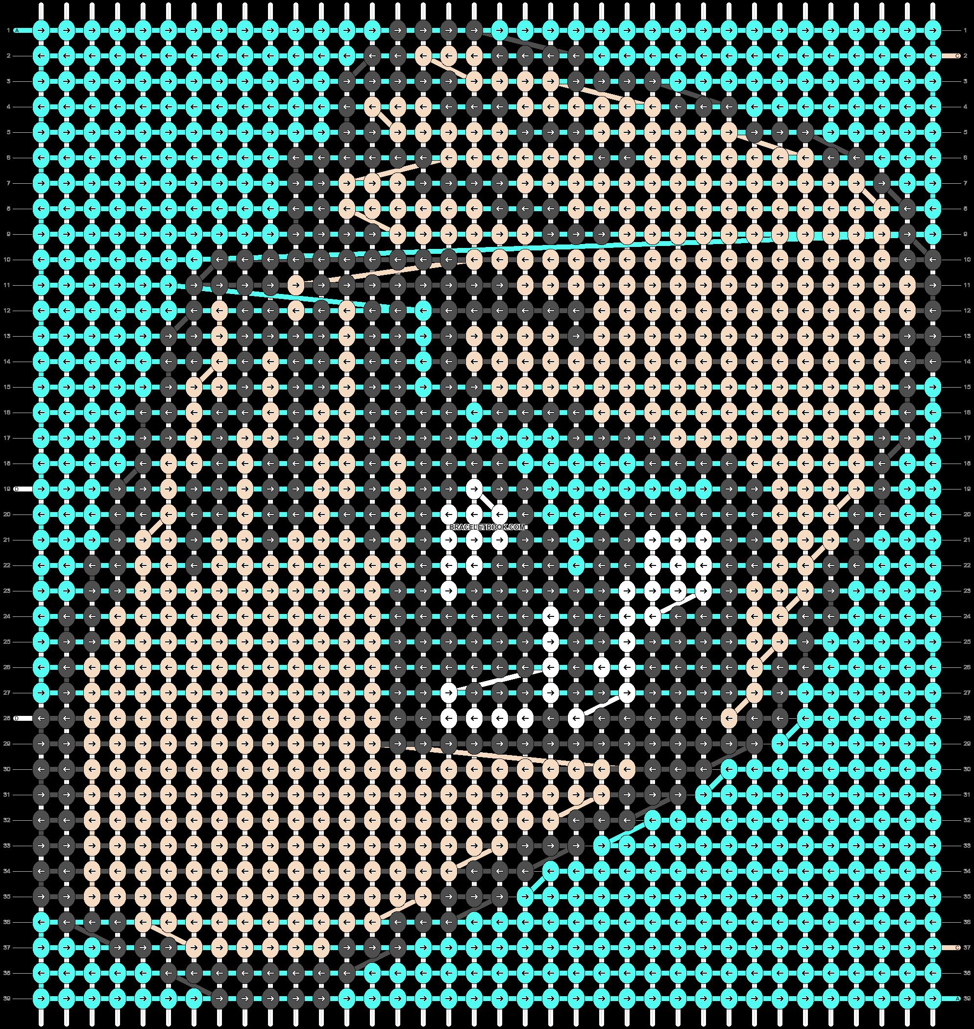 Alpha pattern #89034 pattern