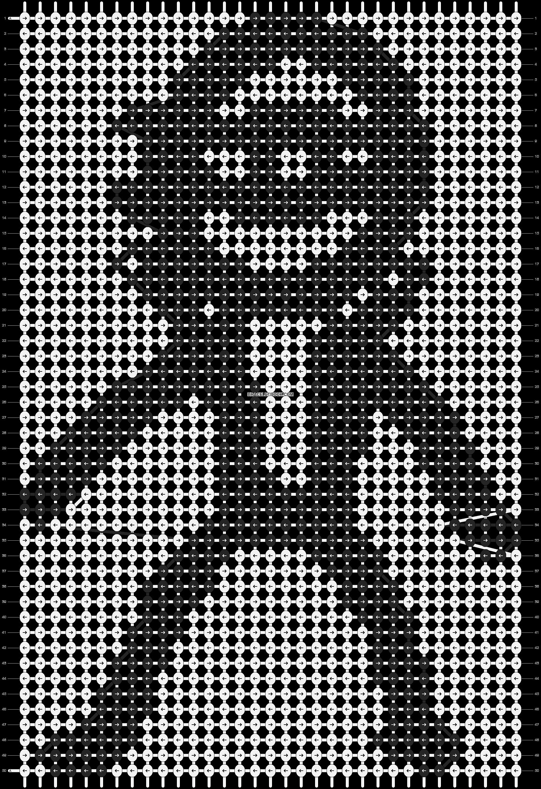 Alpha pattern #89035 pattern