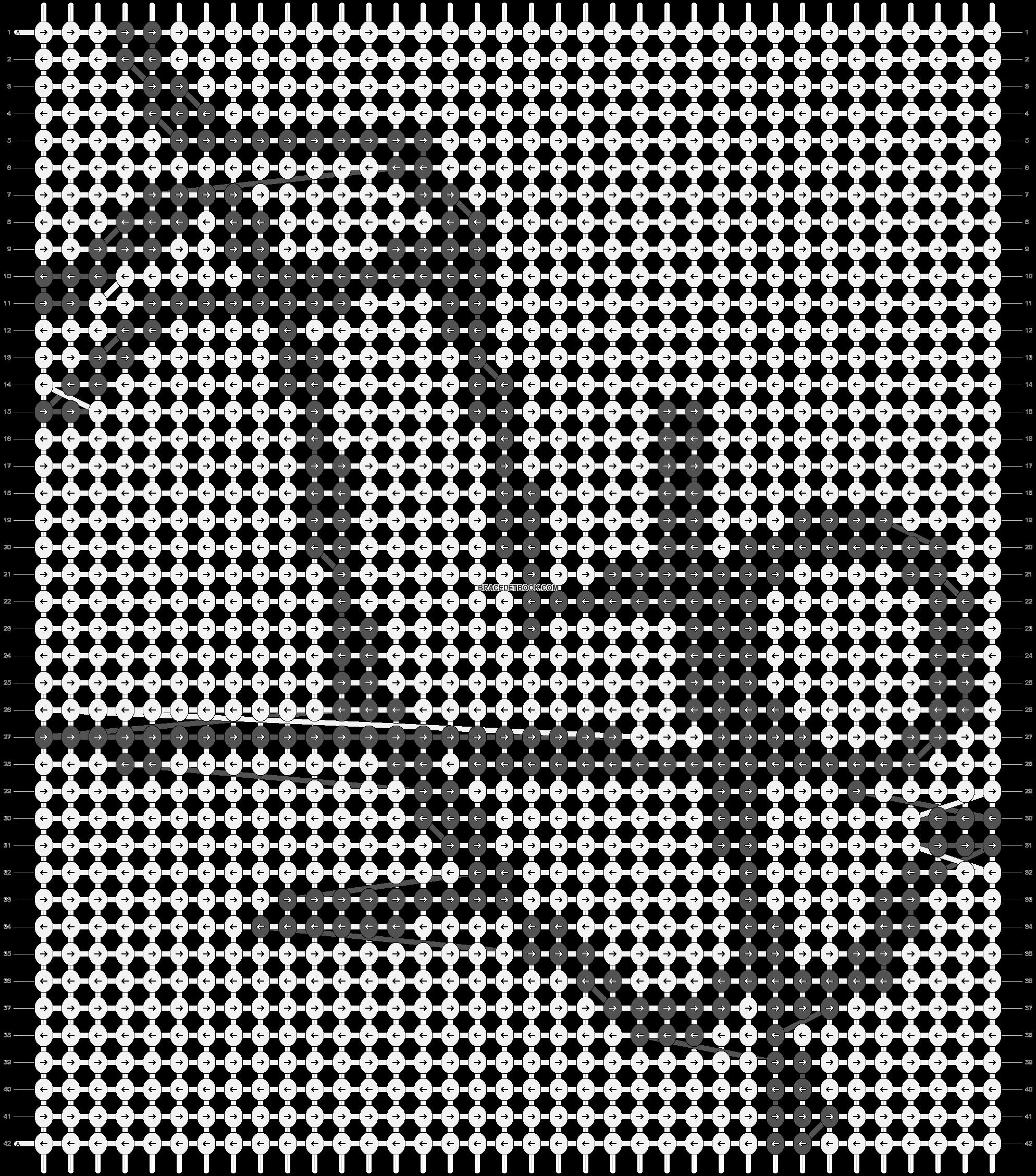 Alpha pattern #89038 pattern