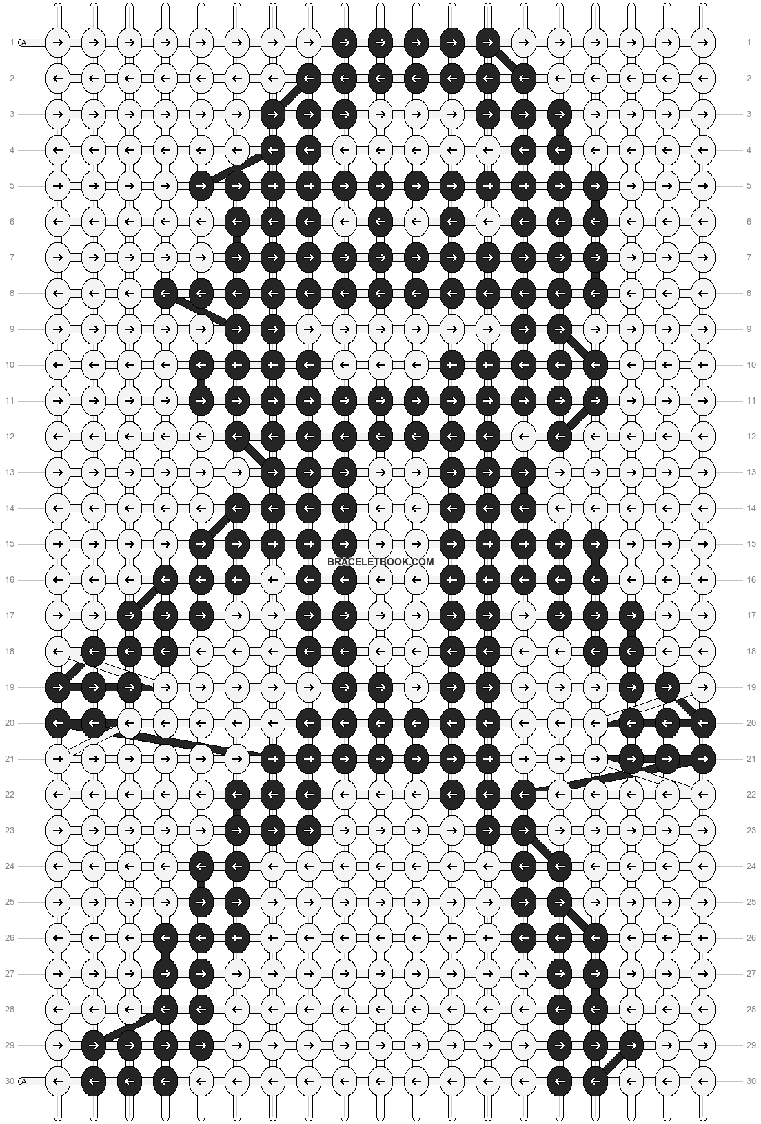 Alpha pattern #89039 pattern
