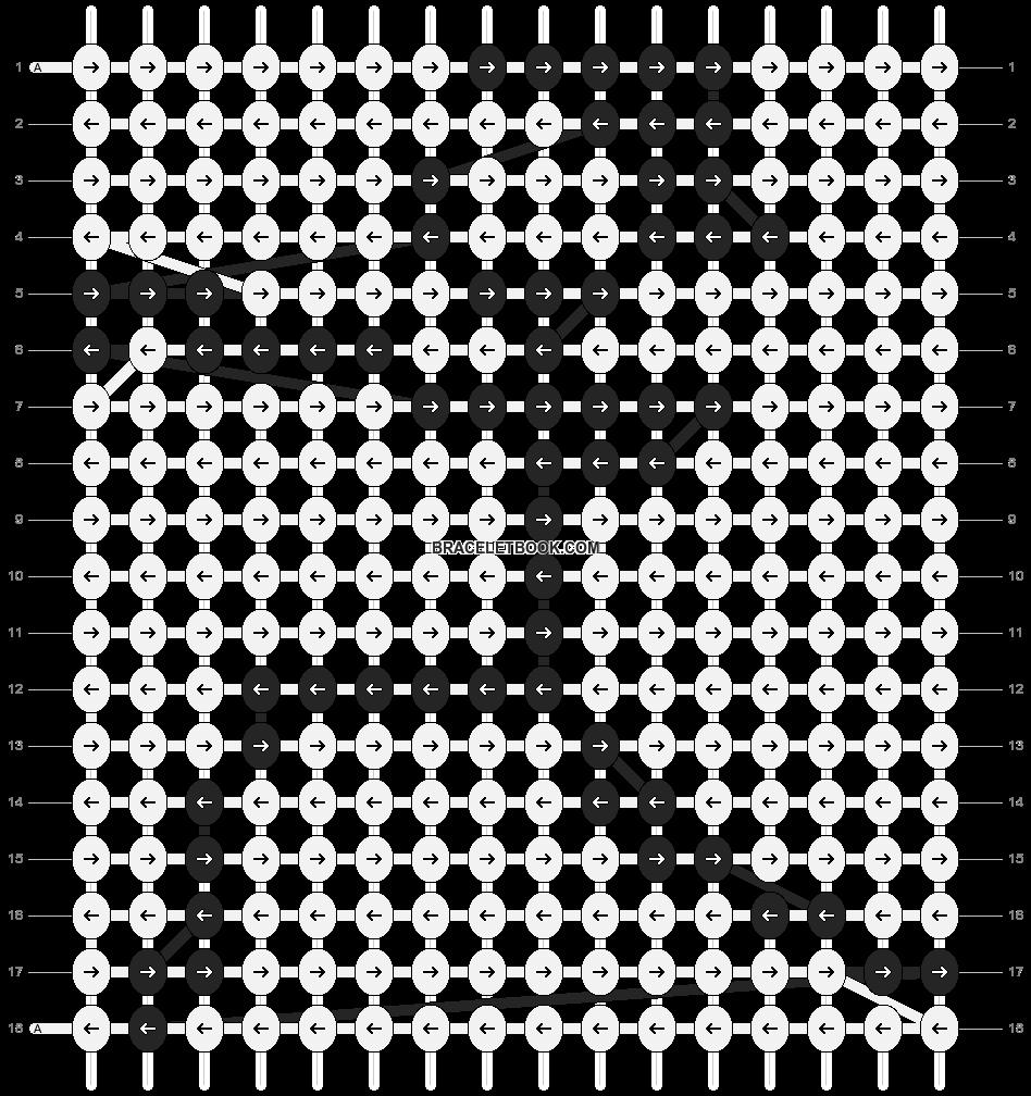 Alpha pattern #89044 pattern