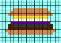 Alpha pattern #89058