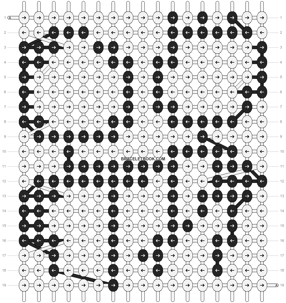 Alpha pattern #89063 pattern