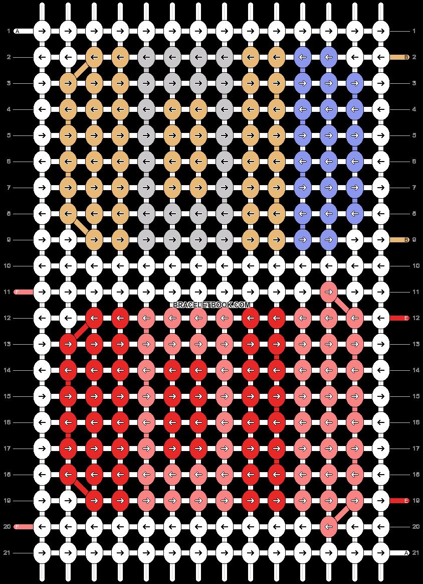 Alpha pattern #89082 pattern