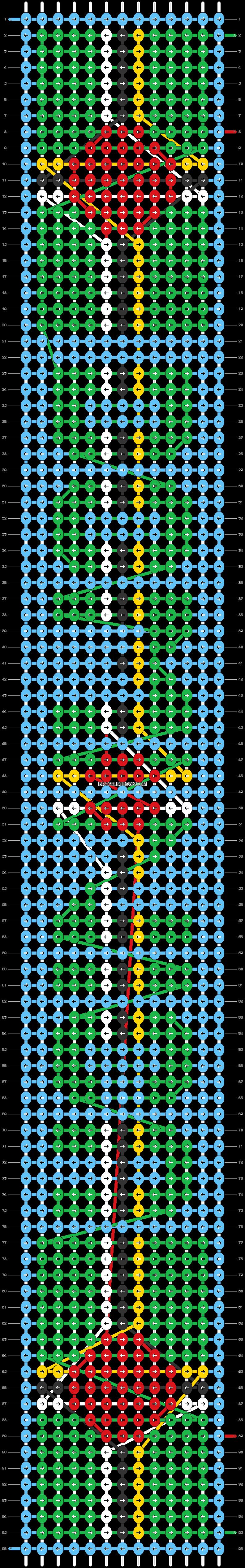 Alpha pattern #89091 pattern
