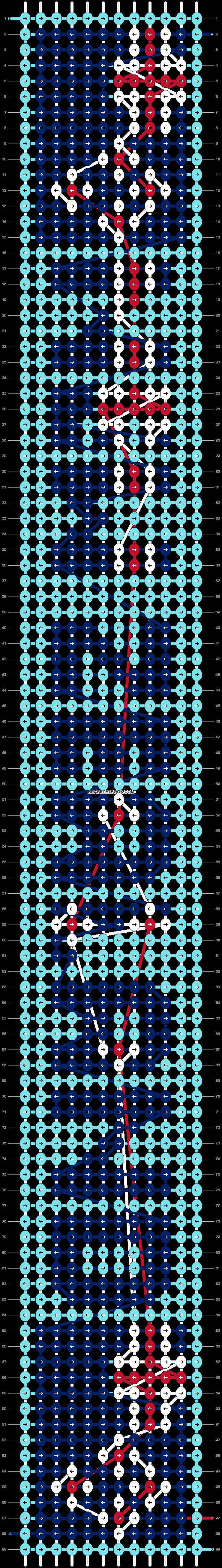 Alpha pattern #89092 pattern