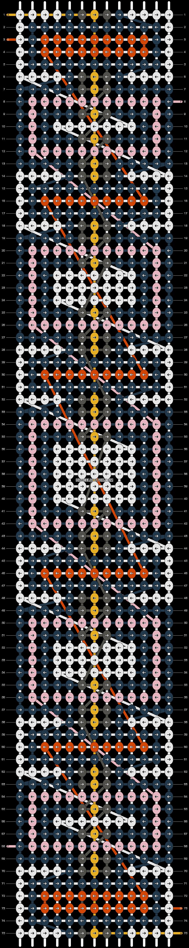 Alpha pattern #89100 pattern