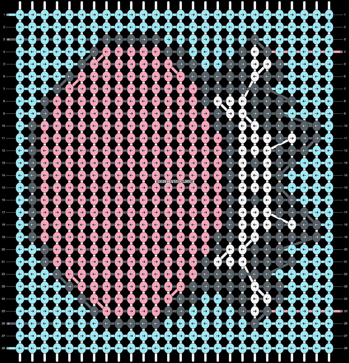 Alpha pattern #89122 pattern