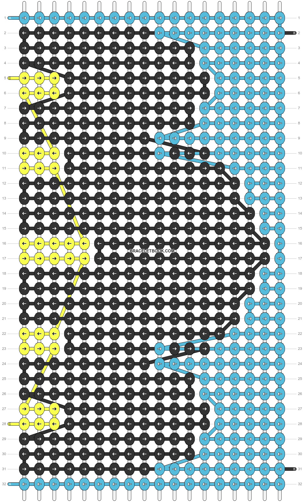 Alpha pattern #89123 pattern