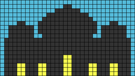 Alpha pattern #89123