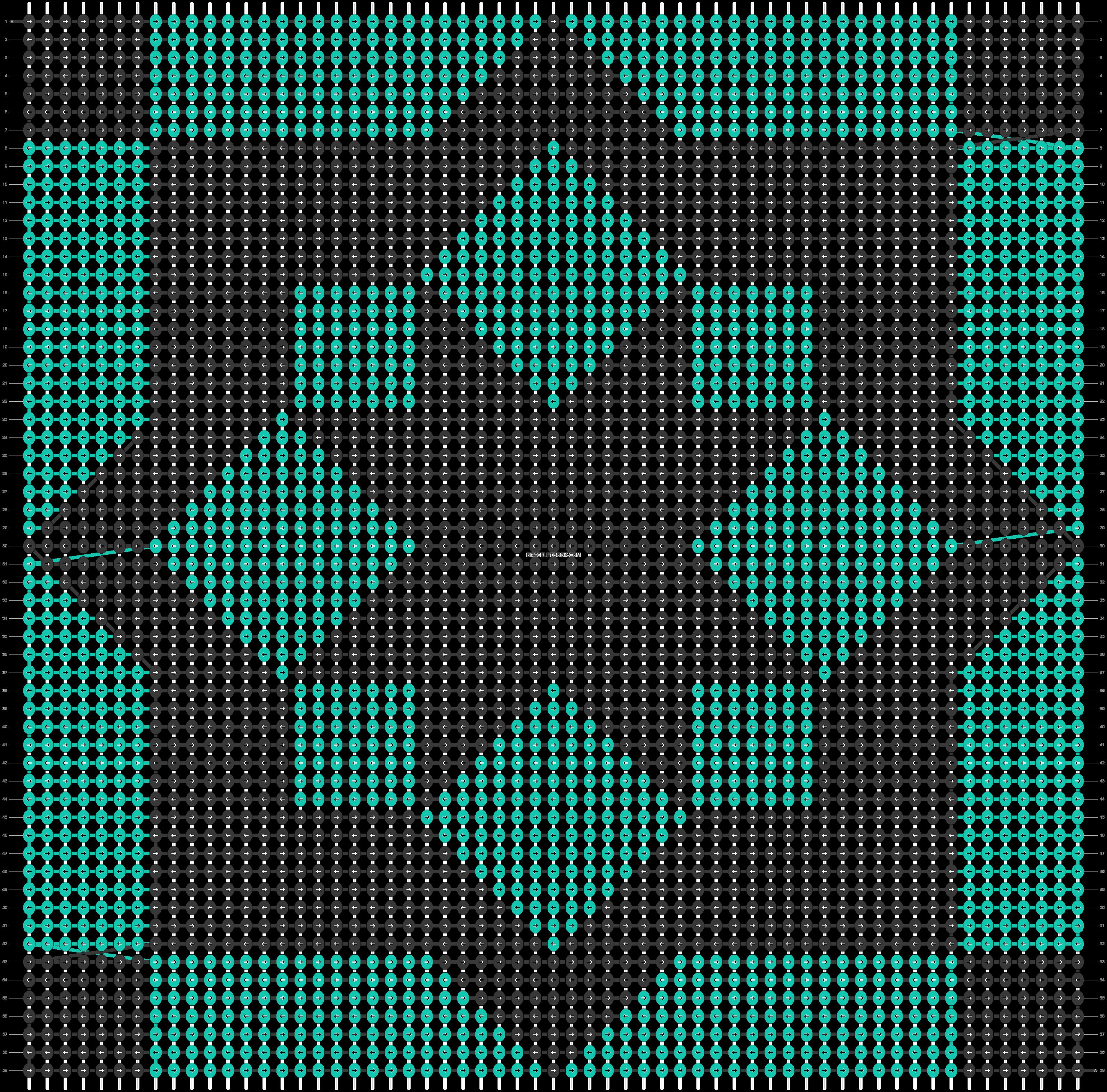 Alpha pattern #89126 pattern