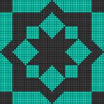 Alpha pattern #89126