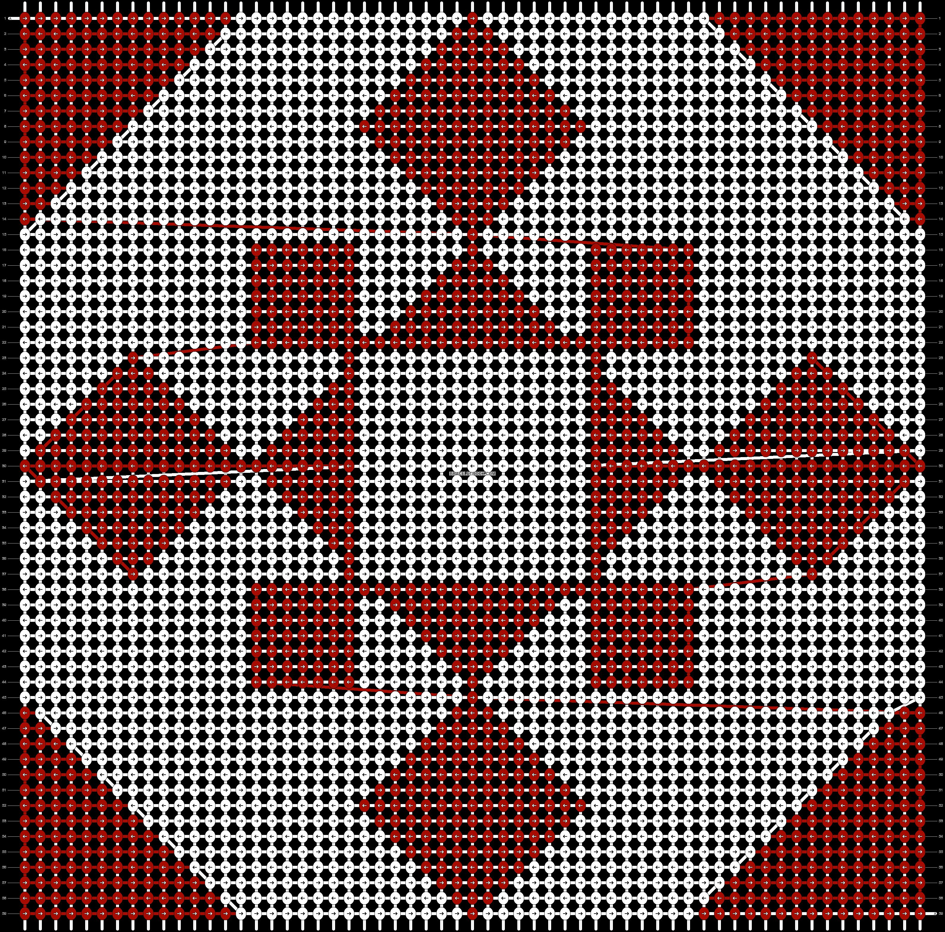 Alpha pattern #89127 pattern